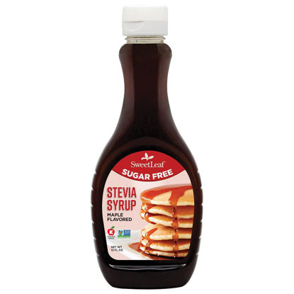 Picture of SWEET LEAF SUGAR FREE SYRUP MAPLE 355ml