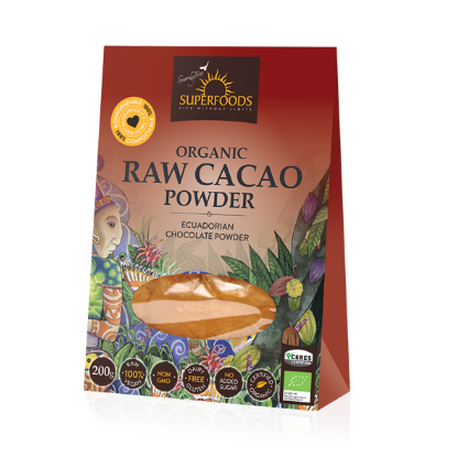 Picture of Cacao Powder 200g Raw Organic