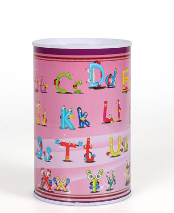 Picture of 12.5Cm Money Tin - Pink