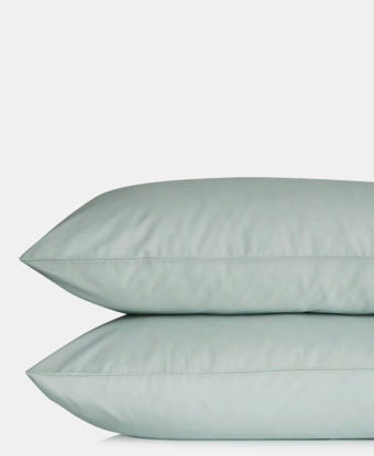Picture of 2 Pack Plain Pillowcases - Duck Egg