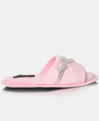 Picture of Ladies Mink Bedroom Slippers - Shoes