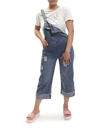 Picture of Denim Dungaree - Blue