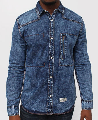 Picture of Denim Shirt - Blue