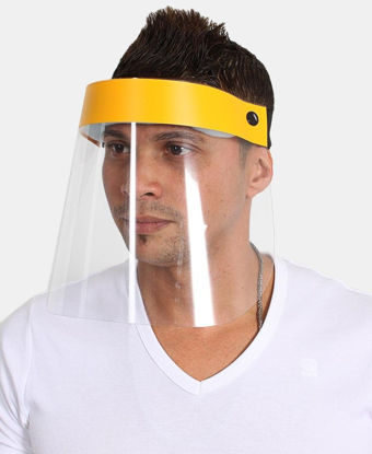 Picture of Face Shield 250 Micron - Yellow