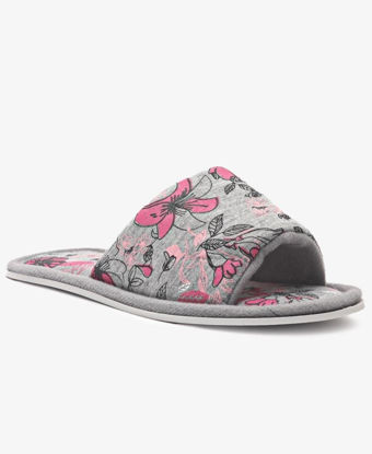 Picture of Girls Bedroom Slippers - Grey