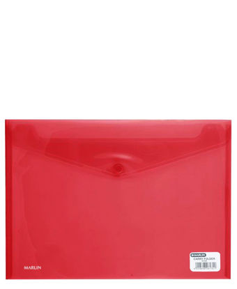 Picture of Marlin A4 Carry Folder - Red