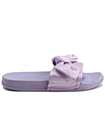 Picture of Ribbon Bow Sandals - Purple