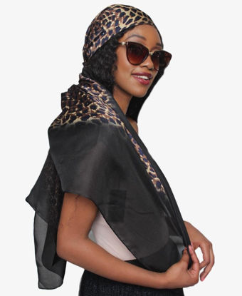 Picture of Silk Scarf - Black
