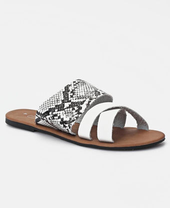 Picture of Slip On Sandals - White