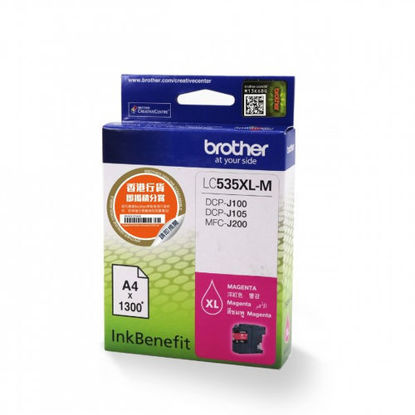 Picture of Brother Lc535Xlm Ink Cartridge Magenta