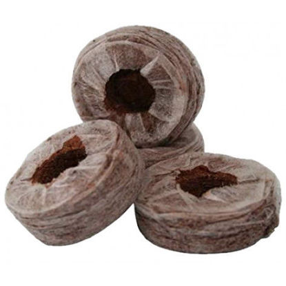 Picture of JIFFY PELLET 7C (COCOPEAT) - 40X45MM