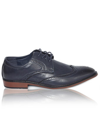 Picture of Lace Up Shoes - Navy