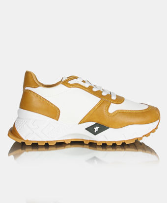 Picture of Ladies' Casual Sneakers - Mustard