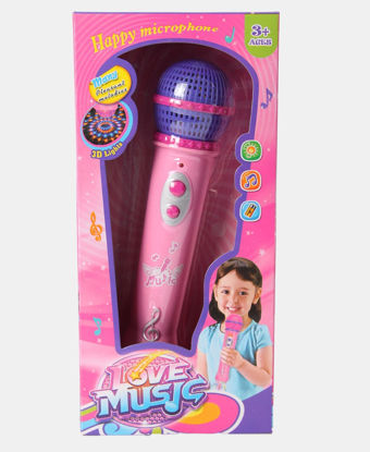 Picture of Musical Light Microphone - Pink