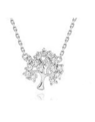 Picture of Silver Tree Of Life 45cm Necklace