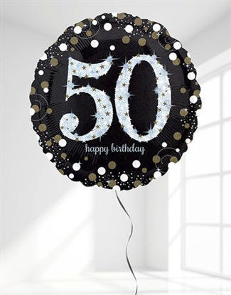 Picture of Sparkling 50th Birthday Jumbo