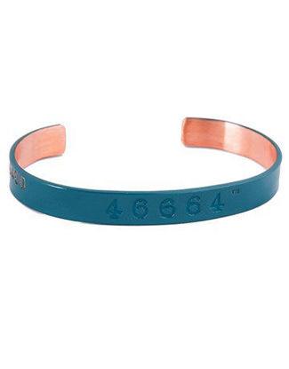 Picture of 46664 Copper Bangle Dark Blue