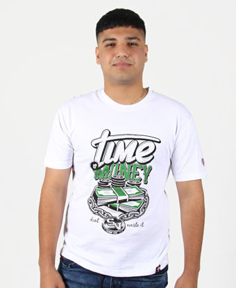 Picture of Pro Stars Printed Crew Neck T-Shirt - White