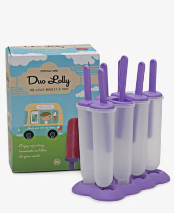 Picture of Eddingtons 6 Ice Lolly Moulds - Purple
