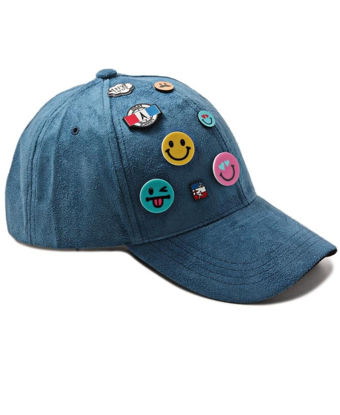 Picture of Emoji Cap - Blue