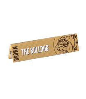 Picture of THE BULLDOG PAPER & GARRICKS SILVER KING SIZE SLIM (33)