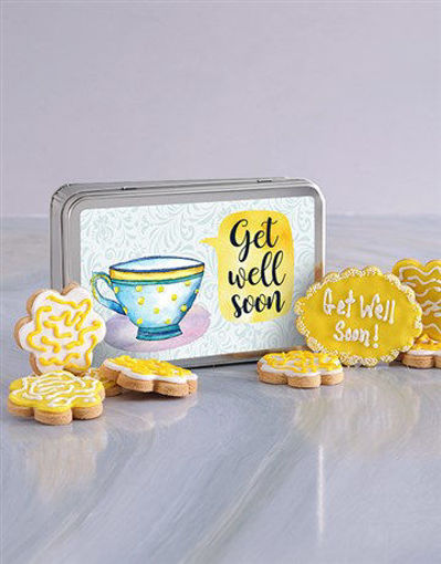 Picture of Get Well Soon Cookie Tin