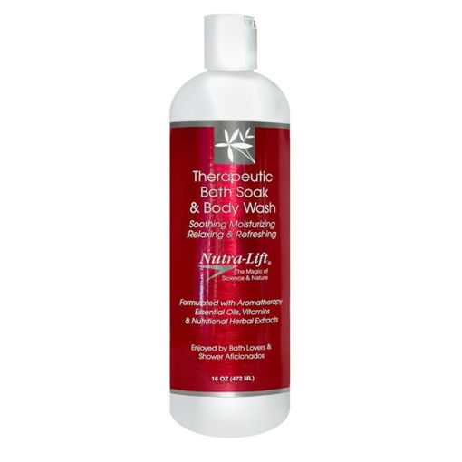 Picture of Nutra-Lift Therapeutic Bath Soak and Body Wash 472ml